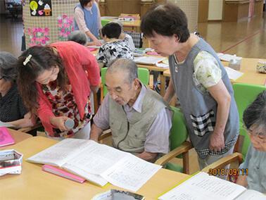 介護施設でのボランティア